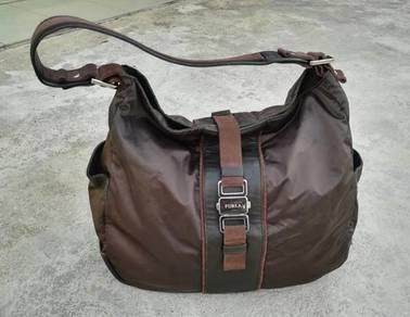 Ori FURLA hobo dark brown bag kueii