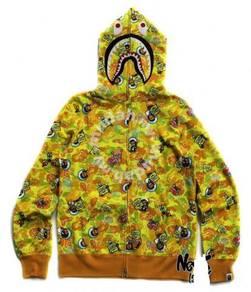 BAPE X Sponge Bob Sponge hoodie sweater