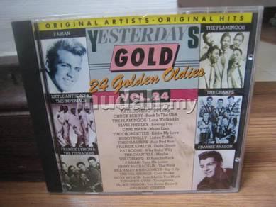 CD Yesterdays Gold Vol 24 - 24 Golden Oldies