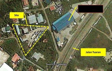 Menggatal land Near Road side RM3,484,800