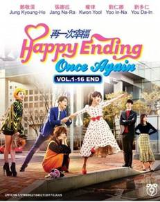 Dvd korea drama happy ending once again