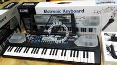 Electronic Keyboard(54Keys) -Black/White Advance