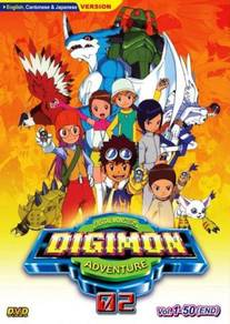 DVD ANIME Digital Monsters Digimon Adventure 02