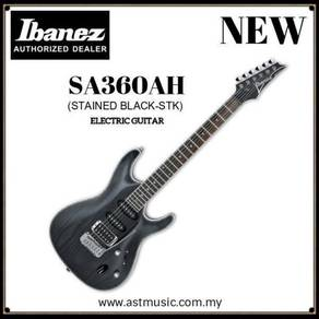 Ibanez SA360ah Stained Black Electric Guitar