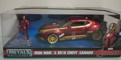 Iron Man and 2016 Chevy Camaro
