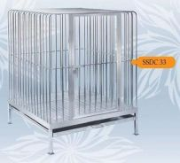 3x3ft Stainless Steel 304 Dog Cage -SSDC 33