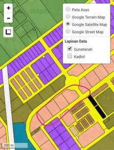 Senai Taman Desa Idaman 4 Pieces Link Industrial Land SALE