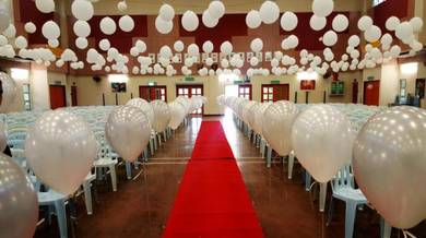White Balloon Deco 00714