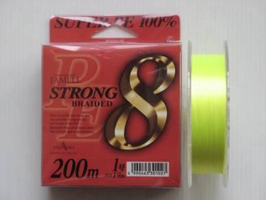 Yamatoyo Strong 8 Super PE 19lb Fishing Line