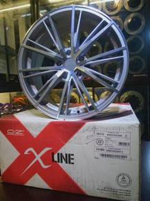 Oz racing envy 18inc rim volkswagen cc golf