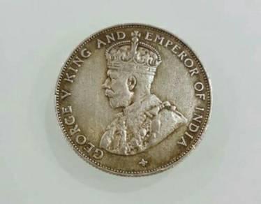 Coin 1920 King George V (Half Dollar)
