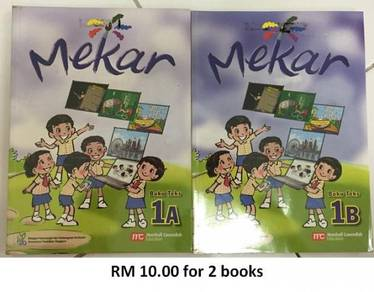 New Malay Language Primary (Mekar) Textbook