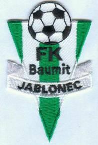 FK Baumit Jablonec Czech Republic Football Patch