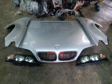 Bmw e46 1 set depan facelift 4 door bonet