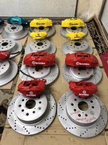 Front brake disc 4pot honda civic fd fb fc