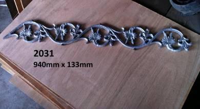 Alloy / besi bunga / besi pagar
