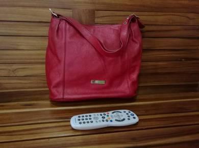 Guy Laroche Red Handbag