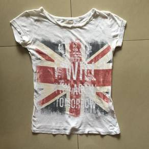 Zara - UK Flag T-shirt