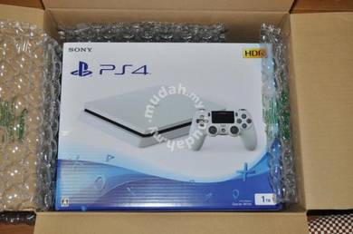 4 PS4 HDR Game Console White 1TB