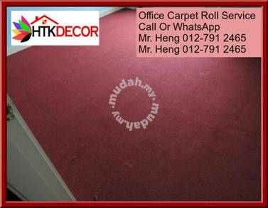 Classic Plain Design Carpet Roll with Install 23GH