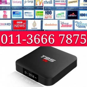 Smart OLED Android Real 4K Tv Box Global Chanel