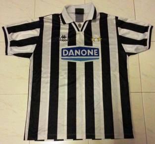 RARE Juventus Home Classic Jersey Danone Medium