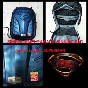 SIMPLE DIMPER Award Winning Diaper Bag SUPERMAN