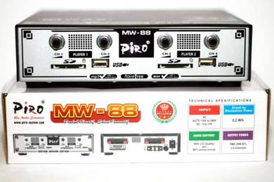 Ori Indo PIRO MW88 Amplifier 800pcs tweeter burung