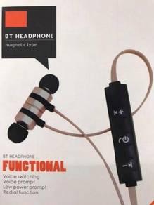 Sweatproof Wireless Sport Bluetooth Earphone D