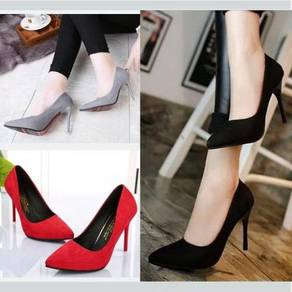 7750 Wild Pointed Shoes with High Heels