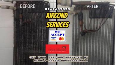 Big Promo 24hrs*Aircond air cond Cash/Credit card