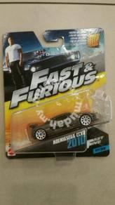 Mattel Fast & Furious Koenigsegg CCXR 2010 Grey