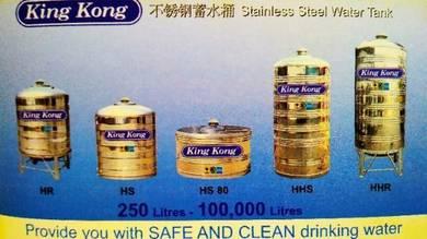 Tangki stainless steel cuci bersih karat
