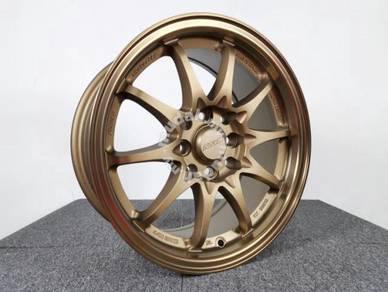 Promosi New Sport Rim RAYS CE28 Brown Rim Sukan