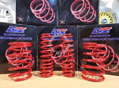 Promosi D2 Sport Spring Lowered untuk Proton Wira