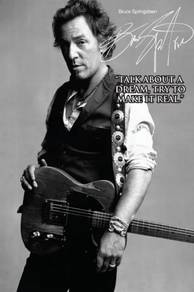 Poster BRUCE SPRINGSTEEN QUOTES N 1
