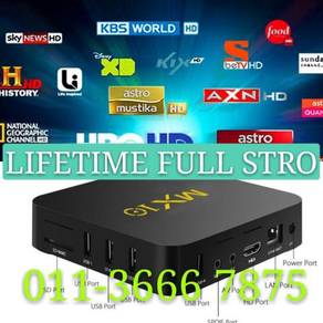Reality 4KHD Android Tv Global Chanel Box Pro