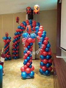 Welcome Balloon With 2 Stand 00006