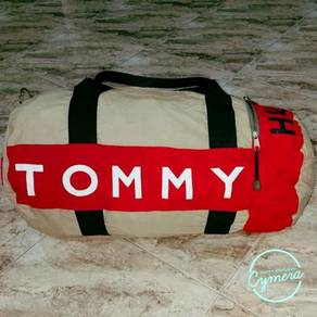 Duffle Bag Canvas Fabric Tommy Hilfiger