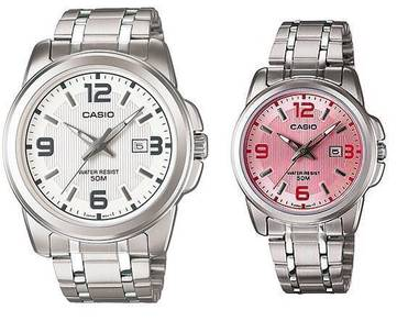 Casio Couple MTP1314D-7A, LTP1314D-5A -ORIGINAL