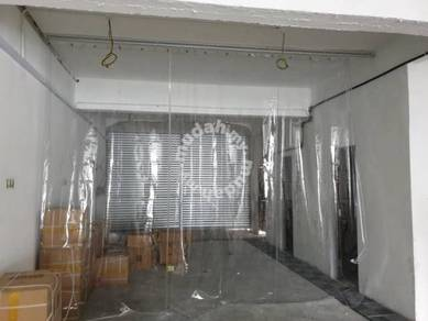 Sliding System Car wash Curtain