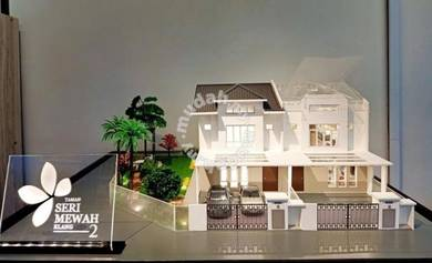 New Launch Freehold w 100% Loan & Affordable 2 Storey near Setia Alam