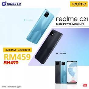 Realme C21 (3GB RAM/5K BATT/3 kamera BLKG)MYset