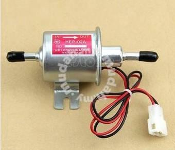 Electric Fuel Pump 12V Universal Heavy Duty Metal