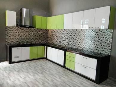 Kabinet Dapur body Stainless Steel di Kota Bharu