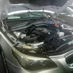 BMW E60 E46 E66 front bonnet damper