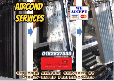 Kl/sel pro aircond air cond 45*offer new aircond