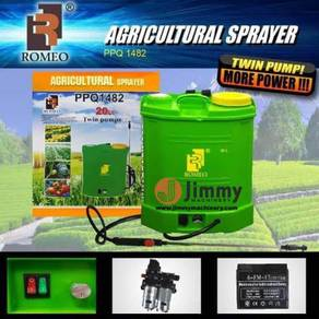 TWIN BATTERY 20L Agricultural Knapsack Spray Pump