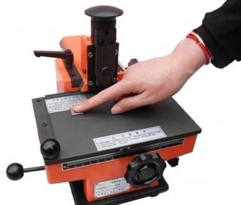 Manual Nameplate Embossing Machine