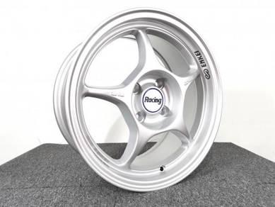 Promosi Sport Rim Enkai RPO1 Silver Rim Sukan